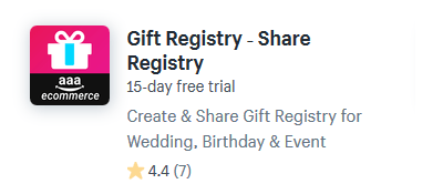 shopify apps gifts presents