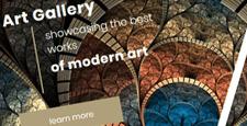 best art gallery joomla templates feature
