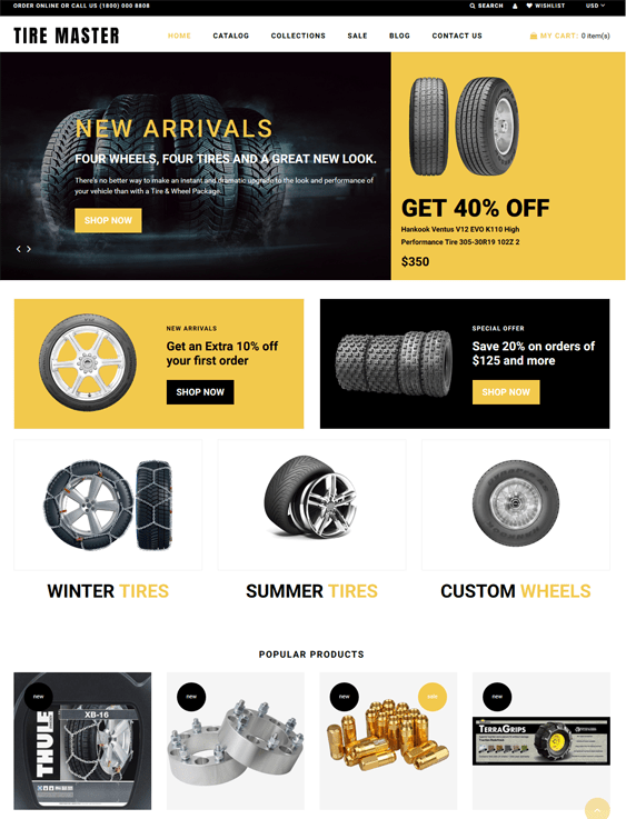 car vehicle automotive shopify themes