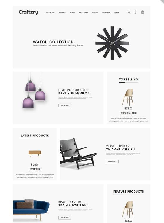 minimal opencart themes