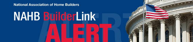National Association of Home Builders | NAHB BuilderLink. ALERT.