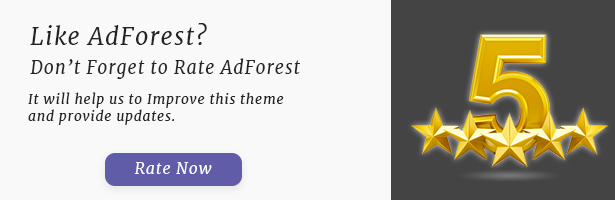 AdForest - Maior tema de WordPress classificada