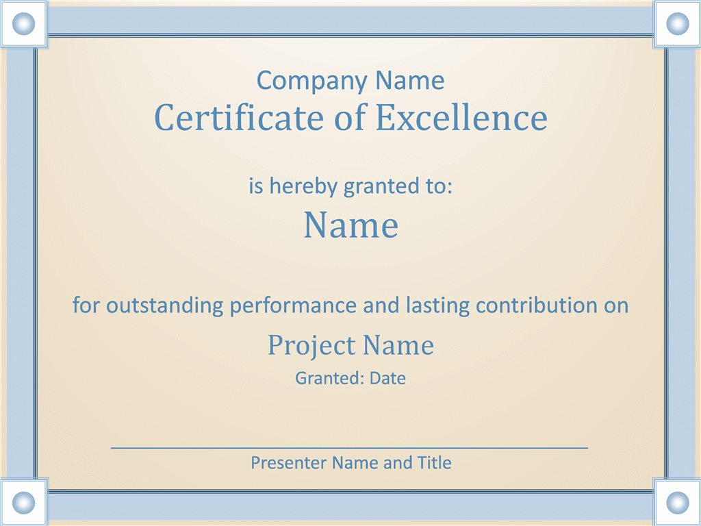 Ms Office Certificate Template. download worker free certificate ...
