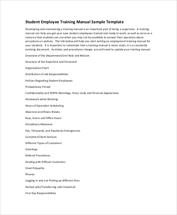 If Yes, Then Download A Training Manual Template Sample From Below In .zip  Format. This Training Manual Template Is Available To Download For Users At  Free ...