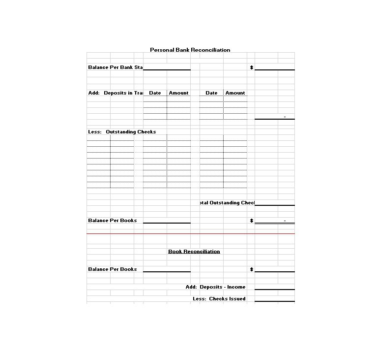 Bank Reconciliation Statement Format In Excel. Free Bank Statement Templates  10 Balance Excel Word Template . Bank Reconciliation Statement Format ...  Bank Reconciliation Statement Template