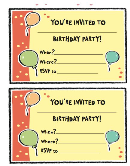 Free birthday party invitation templates word pdf samples create your own personalized and beautiful looking birthday party invitation with the help of templates shared here using a well prepared template is the filmwisefo Images