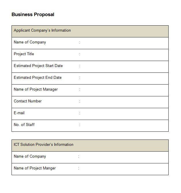 10 best business proposal letter how to write sample example