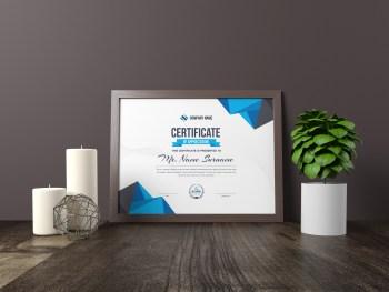 Atlas Landscape Certificate Template