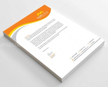 Business Corporate Letterhead Template