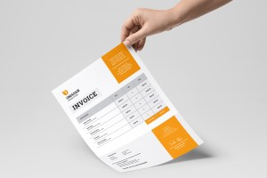 Stylish Business Invoice Templates