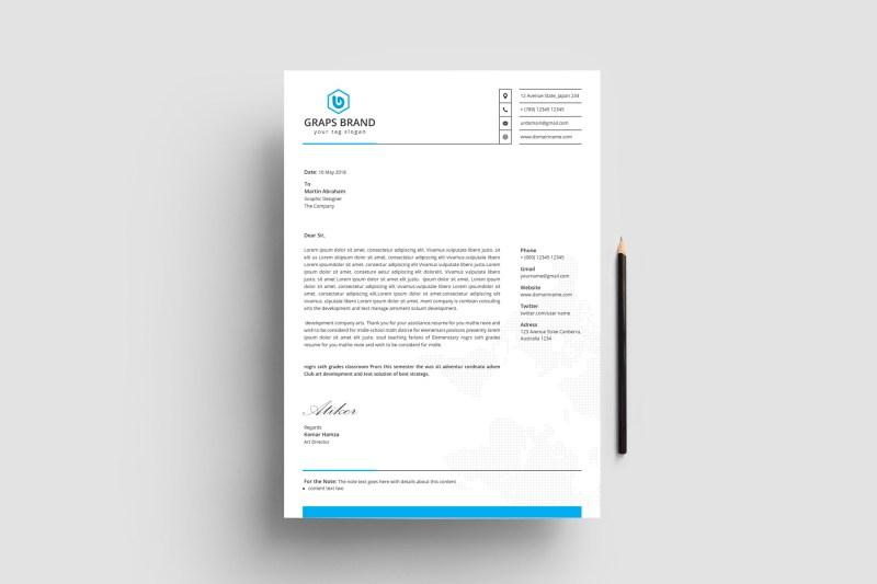 Corporate Letterhead Design Templates