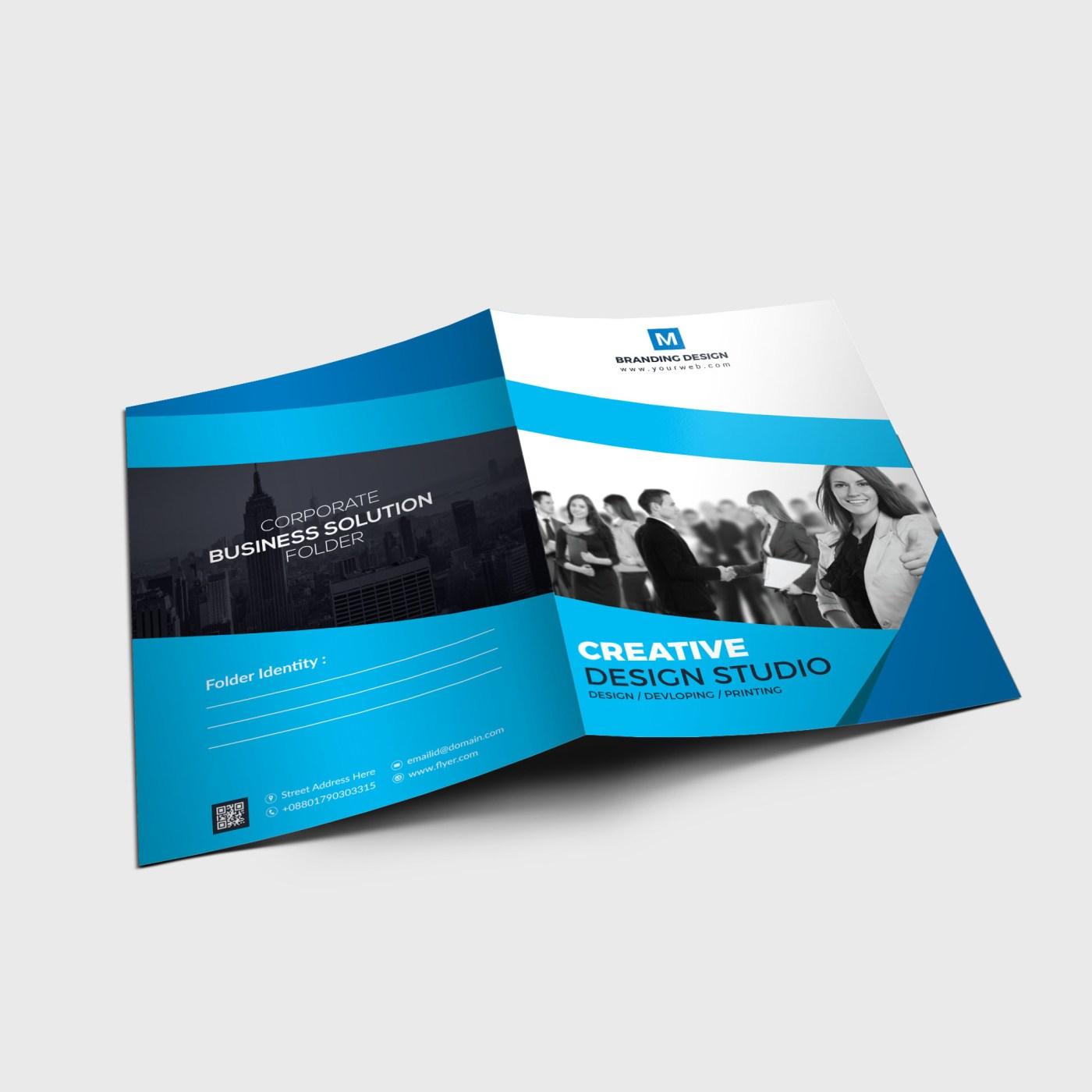 EPS Corporate Folder Template
