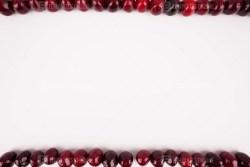 Cherry frame stock image