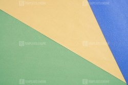 Green Blue and orange color paper background