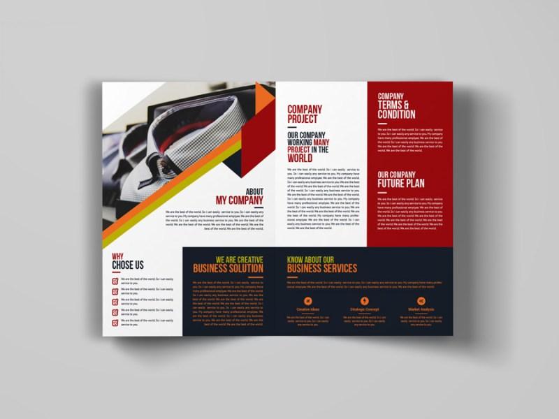 Creative Bi Fold Booklet Template