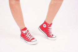 Red Converse Chuck Taylor All Star