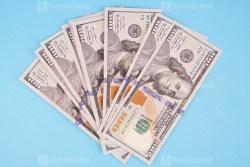 US dollars royalty free stock photo