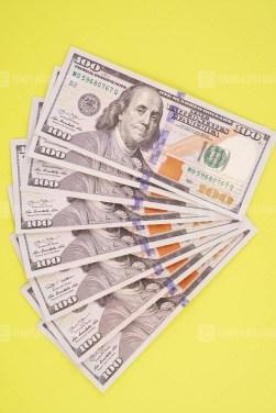 USA cash bills stock image