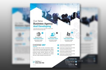 PSD Flyer Design Template