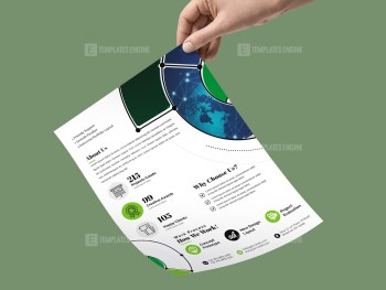 PSD Simple Flyer Template