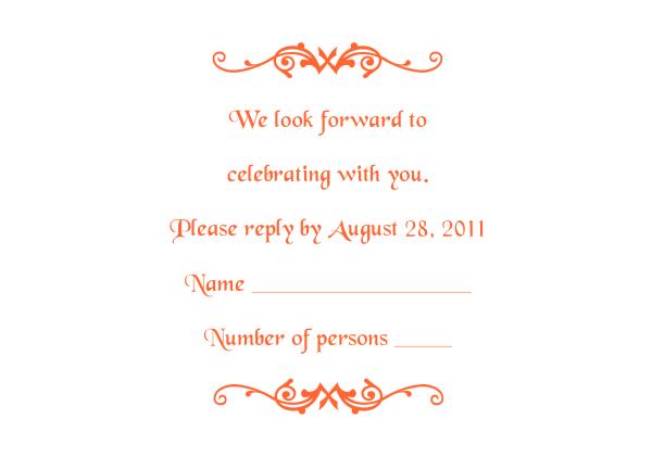 Wedding Invitation And Rsvp Card With Envelope Address Smlfimage Source