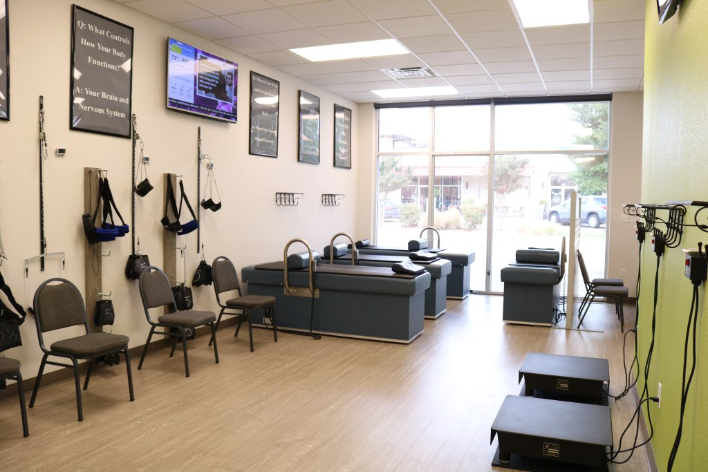 Temple Texas Chiropractor rehab room