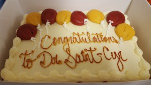 Congratulations, Dr. Saint-Cyr!