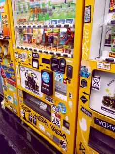 Vending Machine Graffiti