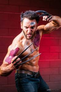 Ripped skin Wolverine