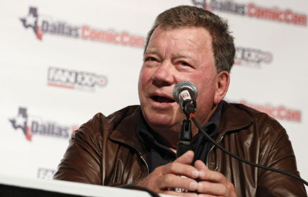 Actor/producer/director William Shatner appears at Fan Expo Dallas. PHOTO CREDIT: Rachel Parker