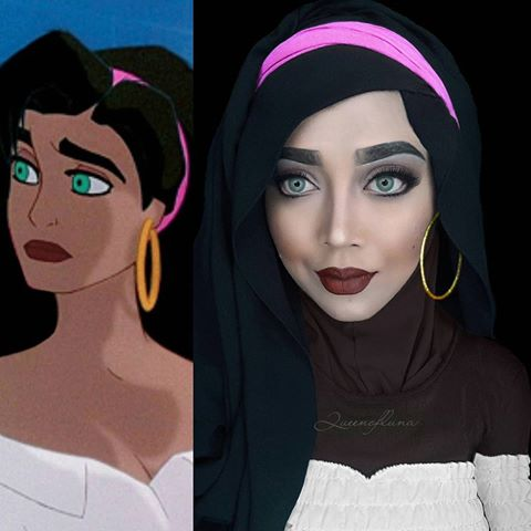 This Amazing Cosplayer Makes Cosplays Using Her Hijab To Cosplay
