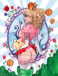 Mario Nintendo Princess Peach