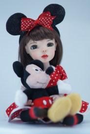 Malia Loves Minnie by Bo Bergemann