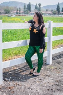 Green Mermaid Leggings
