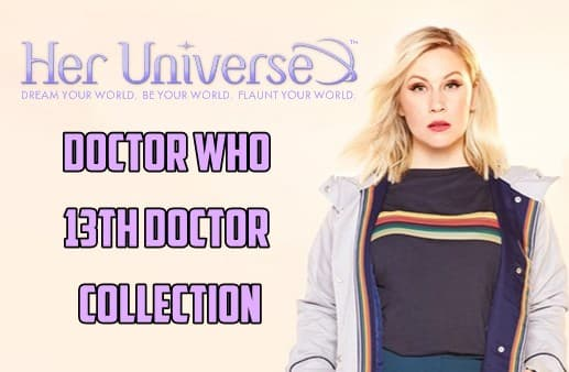 cb108b2d Temple of Geek Chic: Her Universe 13th Doctor Collection