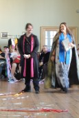Christopher and Alix in their Beltane best