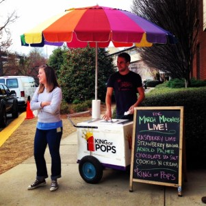 Turner Sports treated us to King of Pops outside Techwood during the Dance.