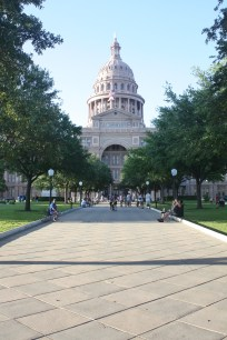 The Texas State Capitol Building.