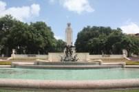 Hot, humid, Texas.