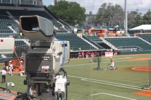 The ESPN cameras were in place to see Texas take on Houston.