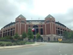 Just cruising down the street named after my favorite ballplayer in Arlington -- Nolan Ryan.