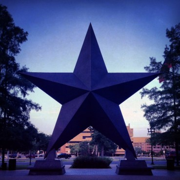 The stars at night are big and bright... deep in the heart of Texas! Adios, Austin.