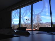 Not a bad view for a conference room.