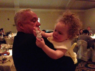 Uncle Stephen and Ellie.