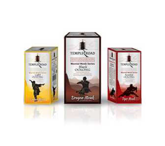 Martial Monk Oolong Tea Series