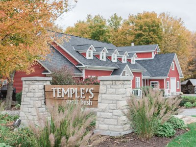 Temple's Country Weddings venue in eastern Ontario
