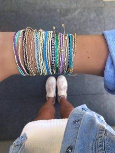 664-Argantina-bracelet-purple-gold-dot-guanabana-woven-bracelet-templestones-5