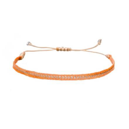 Argantina-bracelet-orange-arrow-woven-bracelet-templestones-1
