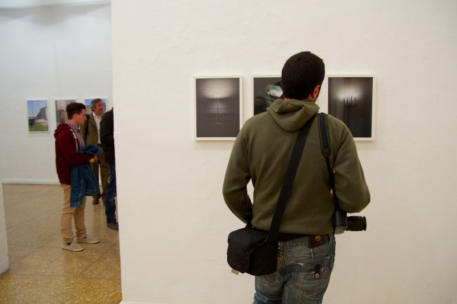 Viewing some of Haigen's photographs
