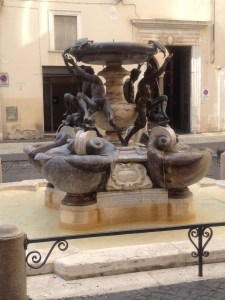 Fontana delle Tartarughe, one of my favorites!